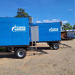 Жилые вагон-дома на шасси для ООО «Газпром трансгаз Махачкала»